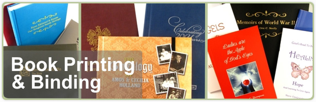 Book printing and binding