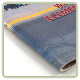 Soft Cover Book Binding Services Saddle Stitched