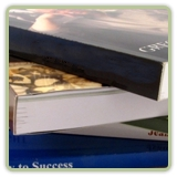 Soft Cover Book Binding Services Perfect