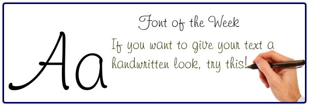 Book printing fonts