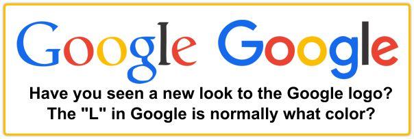 New Font for Google Logo