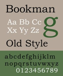 FONT DOWNLOAD OLD BOOKMAN